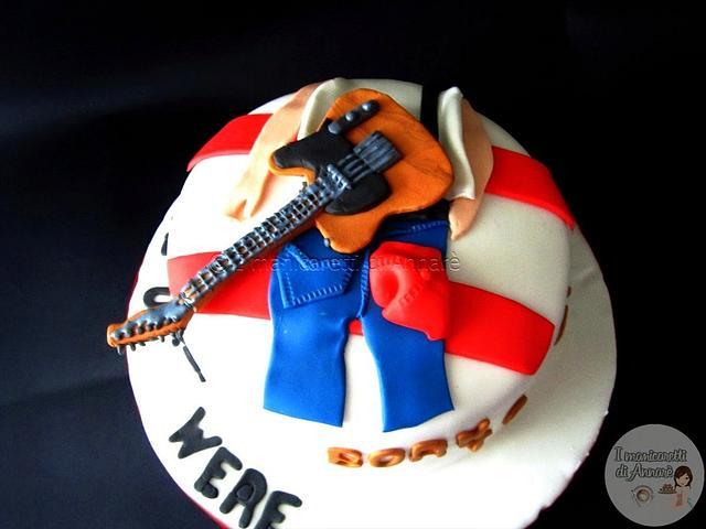 Fine Bruce Springsteen Cake Cake By Annare Cakesdecor Funny Birthday Cards Online Bapapcheapnameinfo