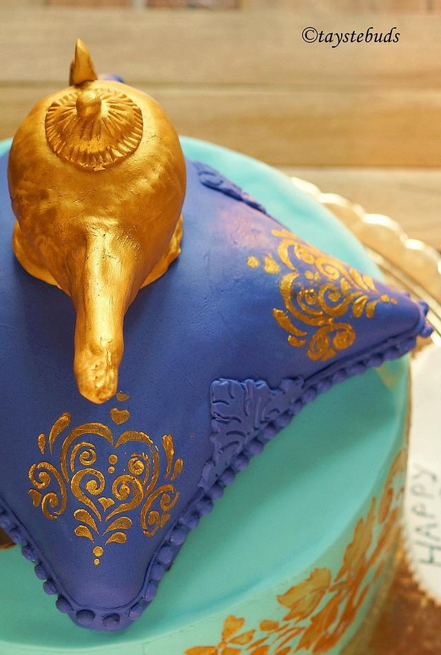 Genie's lamp Cake