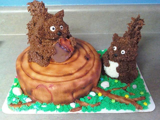 Fat Squirrels