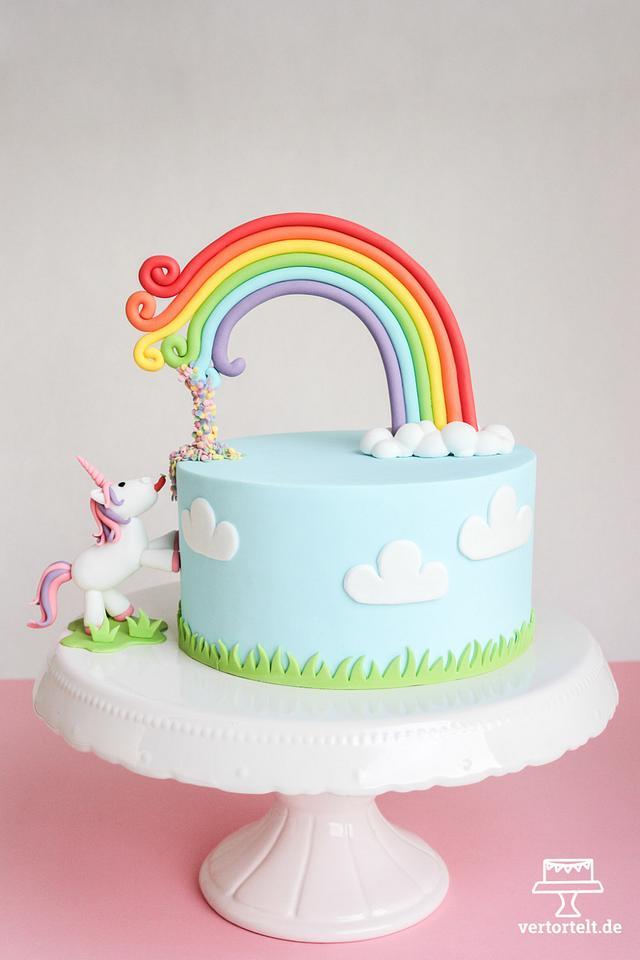 Not a usual Unicorn Cake