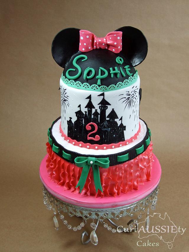 Astonishing Minnie Mouse Disneyworld Birthday Cake Cake By Cakesdecor Birthday Cards Printable Benkemecafe Filternl