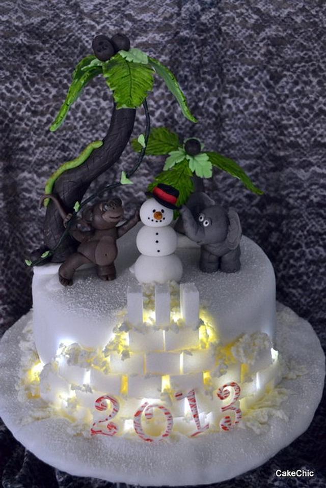 Winter Carnival Cake