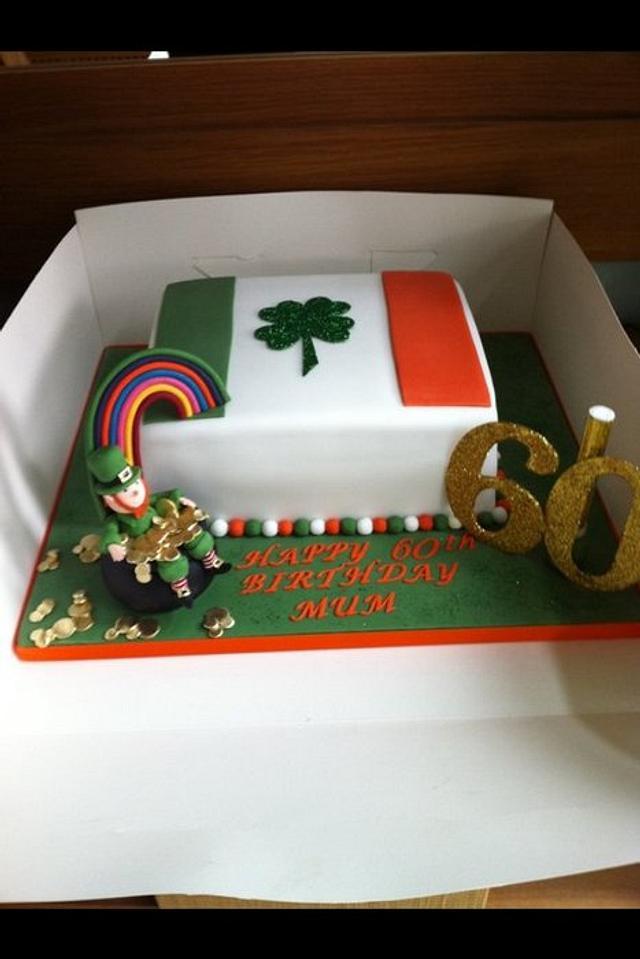 Pleasant Irish Cake Cake By Donnajanecakes Cakesdecor Birthday Cards Printable Riciscafe Filternl