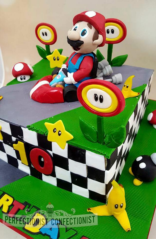 Alex - Mario Kart Birthday Cake