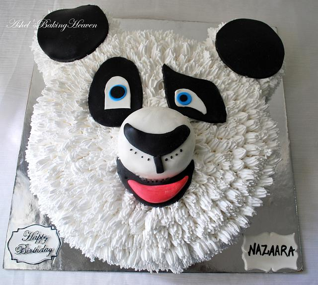 2D kungfu Panda Cake