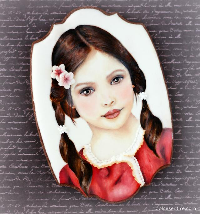 Mariela - Handpainted Cookie