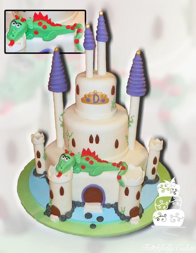 Castle and Dragon birthday