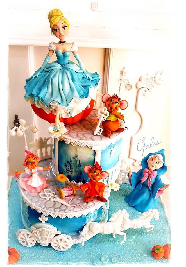 Cake for my daughter...Cinderella