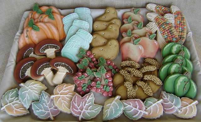 Bountiful Harvest Cookie Platter