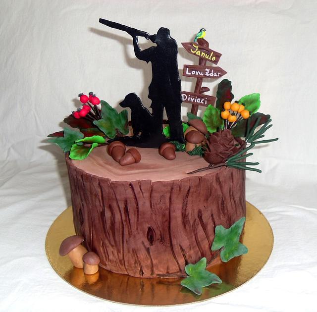 The hunters cake