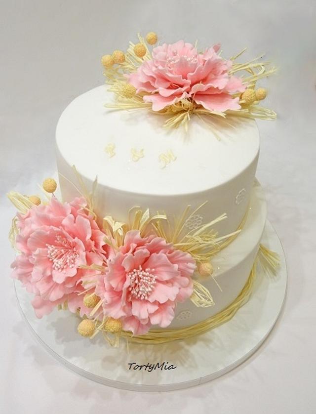 Natural Wedding Cake