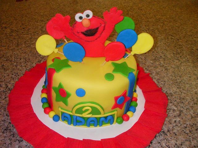 Elmo- 2nd birthday