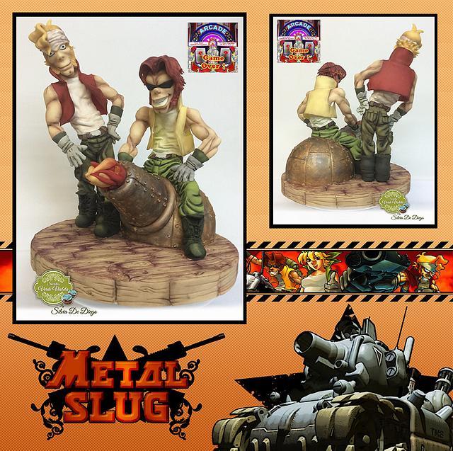 Metal slug .arcade game collaboration