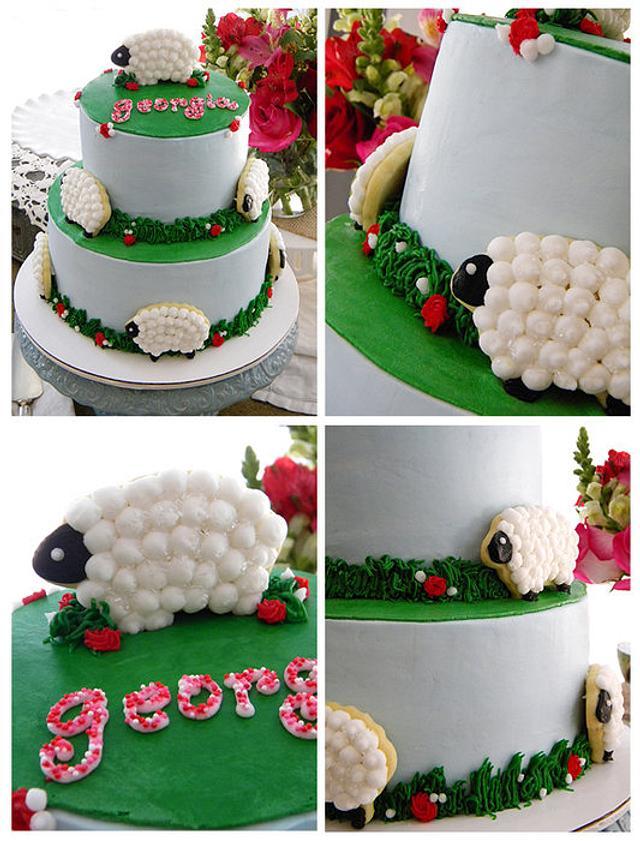 Terrific Barnyard Birthday Cake By Kathi Dangler Cakesdecor Funny Birthday Cards Online Inifodamsfinfo