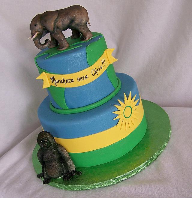 Rwandan cake
