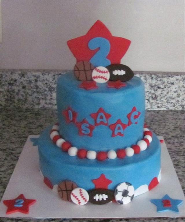 Little Champ Birthday Cake