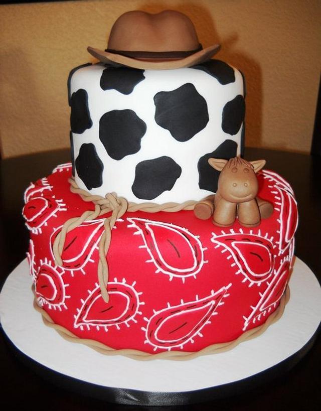 Cowboy Themed Cake!