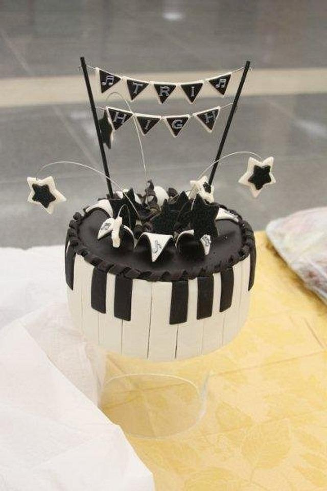 Tri-High Music Festival Cake