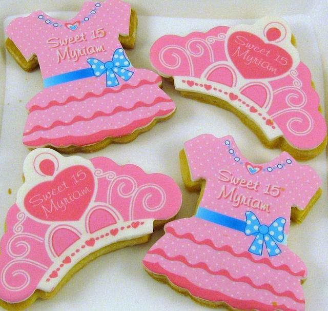 Sweet 15 Cookies
