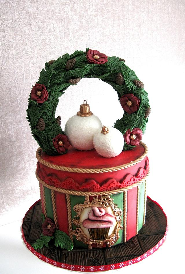 Christmas sweets box