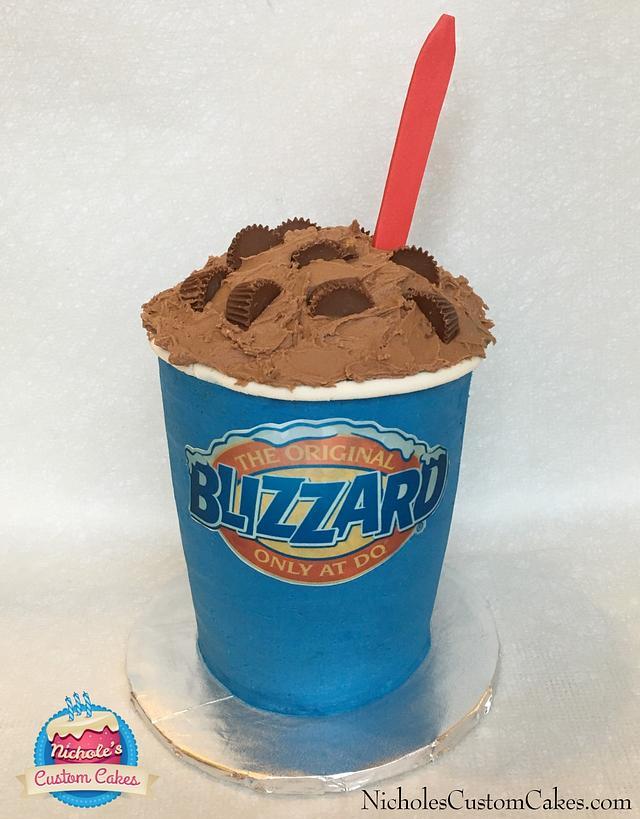 Dairy Queen Blizzard Cake
