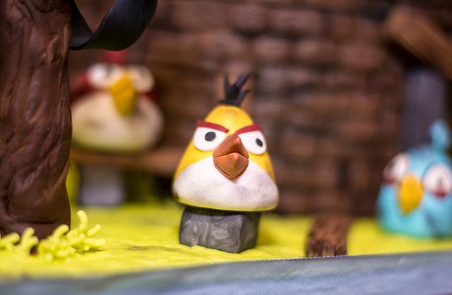 Birds...angry birds
