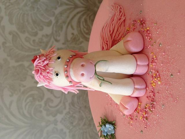 Pink pony!!