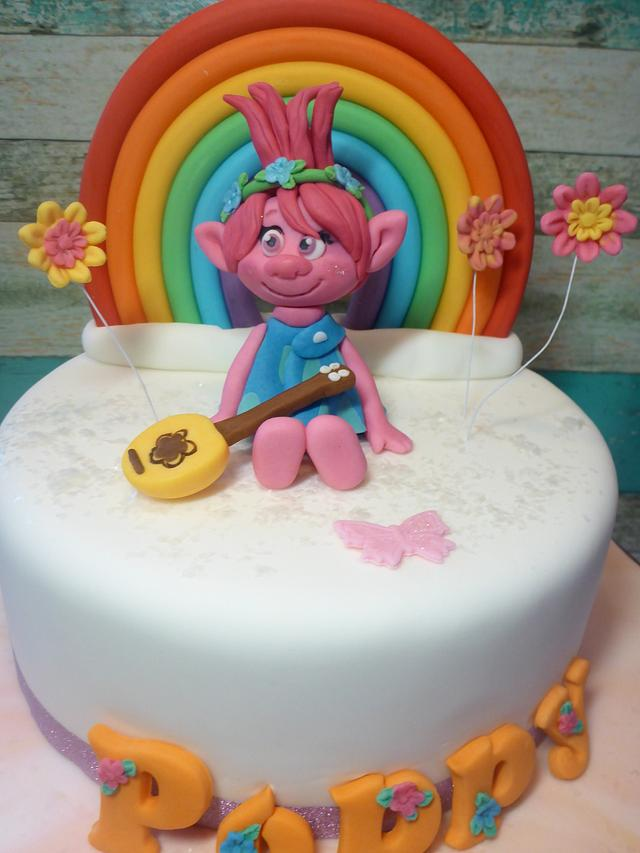 Princess Poppy cake