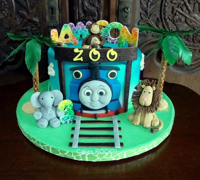 Thomas the Train Goes to the Zoo