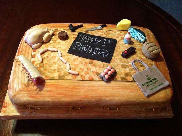 Butchers' Hall Birthday Cake