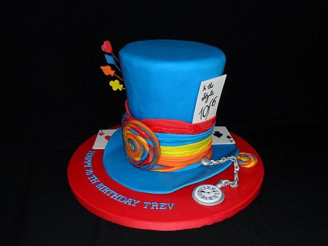 Trev's Mad hatter cake