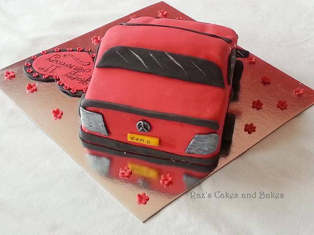 3D Mercedes Cake  :)