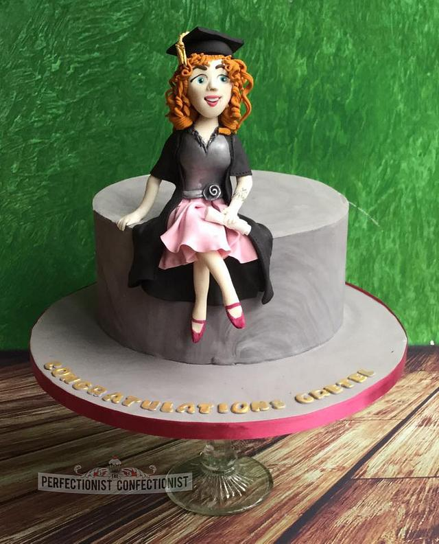 Gretel - Graduation Cake
