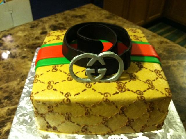 Gucci Box w/ Gucci Belt