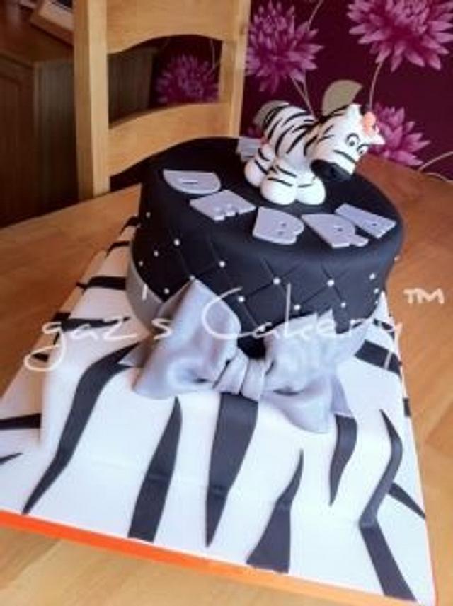 A Zebra for Debra