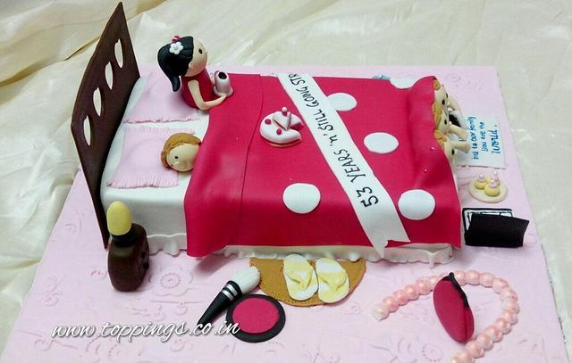 Bedroom cake