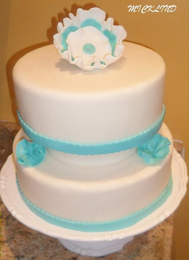 AN ENGAGEMENT CAKE