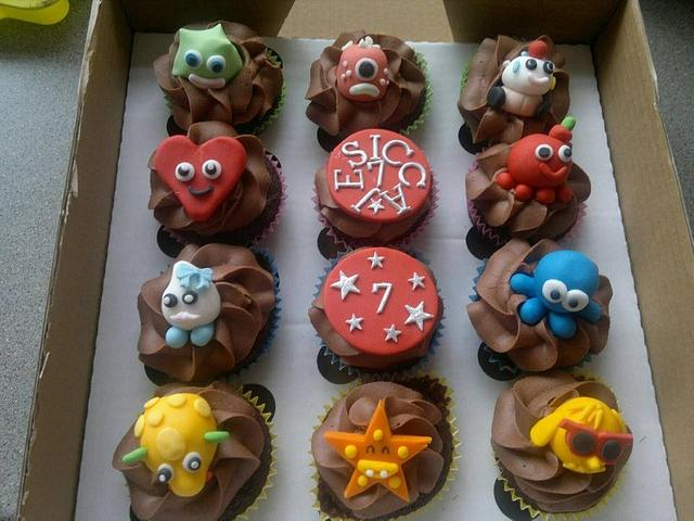 Moshi Monsters Cupcakes