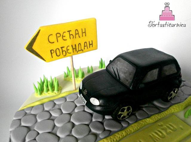 Volkswagen cake