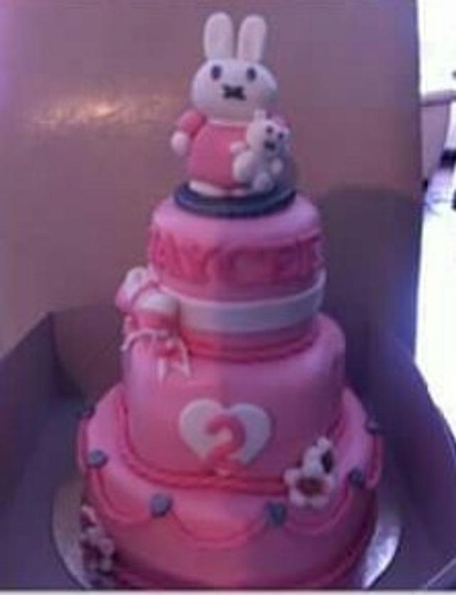 Nijntje Miffy cake