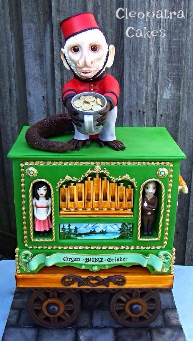 Bavarian organ grinder