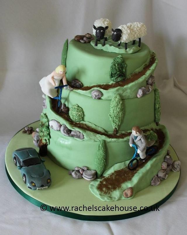 Sheep topper Cake