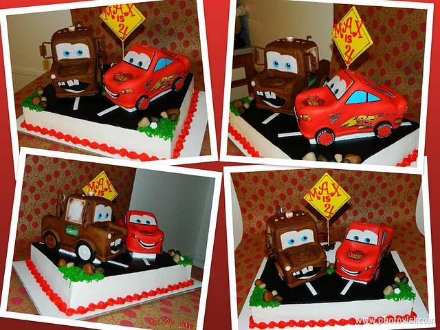 3D Mater & Lightening Cake