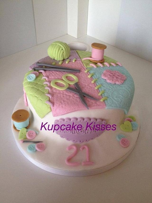 Knitting Cake xoxo