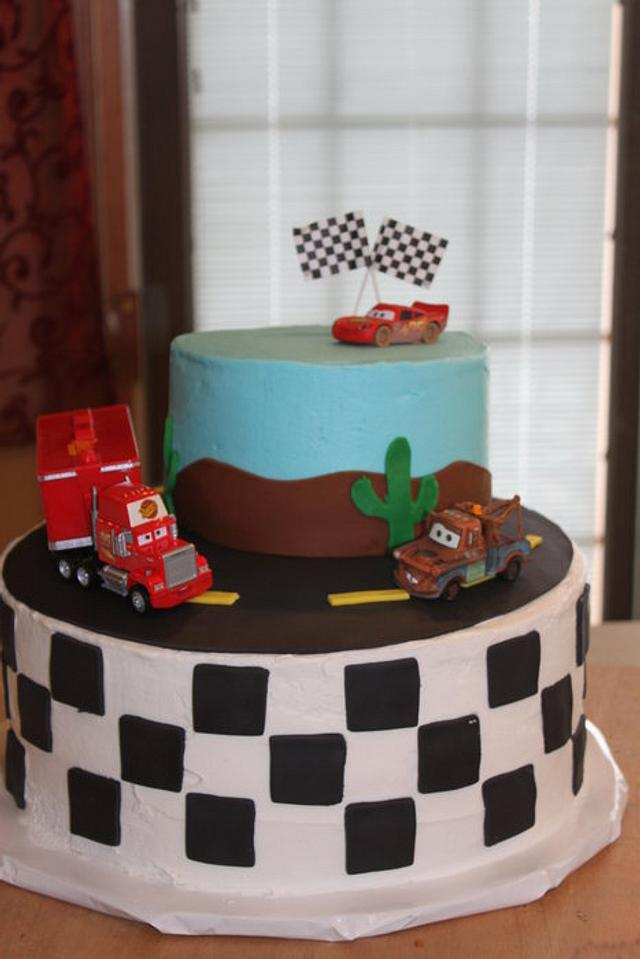 Fabulous Disney Cars Birthday Cake For My 3 Yr Old Son Cake By Cakesdecor Birthday Cards Printable Opercafe Filternl
