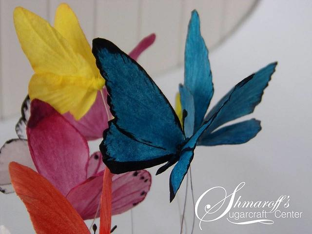 Wafer paper Butterfly