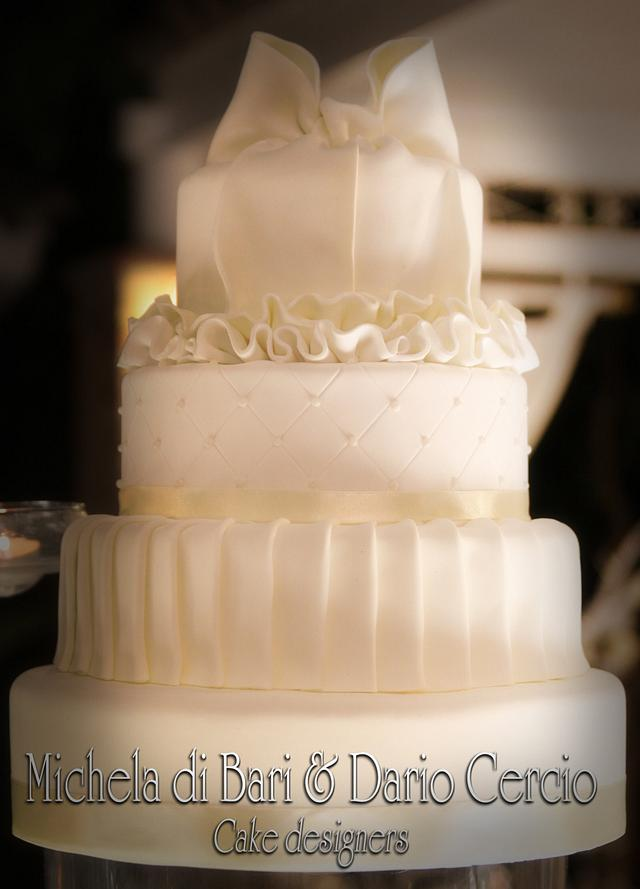 Total White wedding ♥