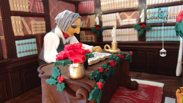 Christmas in Frostington 2014 ~  Scrooge's Study