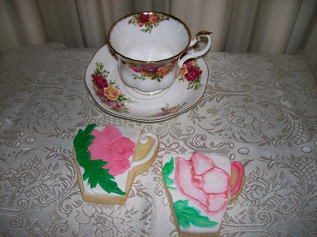 Tea Party Cookies (open to view more!)