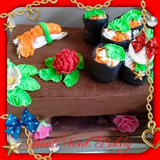 3D sushi table
